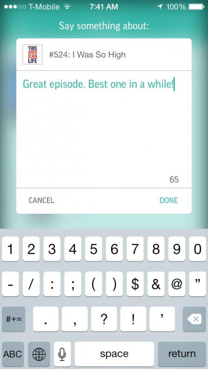 tunein review and interview comments