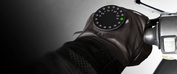 Smart glove gives bikers turn-by- turn navigation