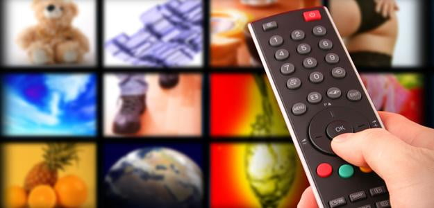 remote with tv screens