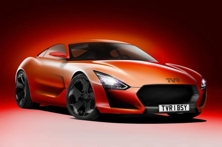 TVR design front angle