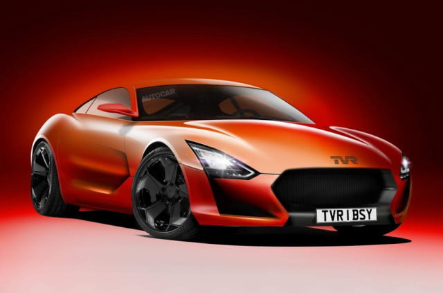 new tvr sports car may already be sold out design front angle