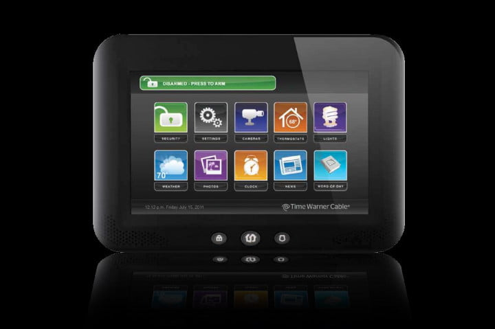 time warners intelligenthome comcast home control twc touchscreen