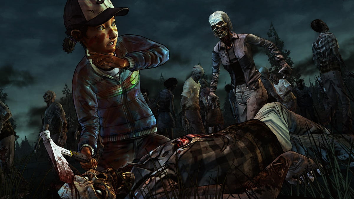 first screens revealed next chapter telltales walking dead twd  hoard