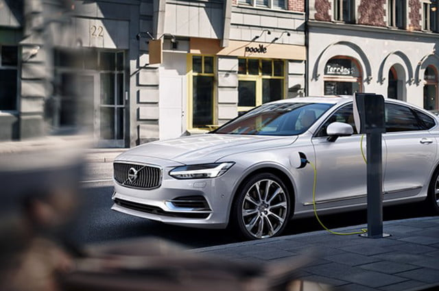 volvo electric cars one million by  twin engine t s inscription white