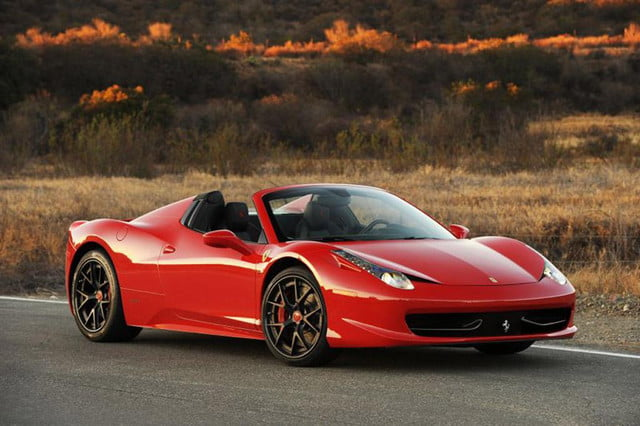 hennessey makes the  italia faster than any other road going ferrari twin turbocharged spider by performance l