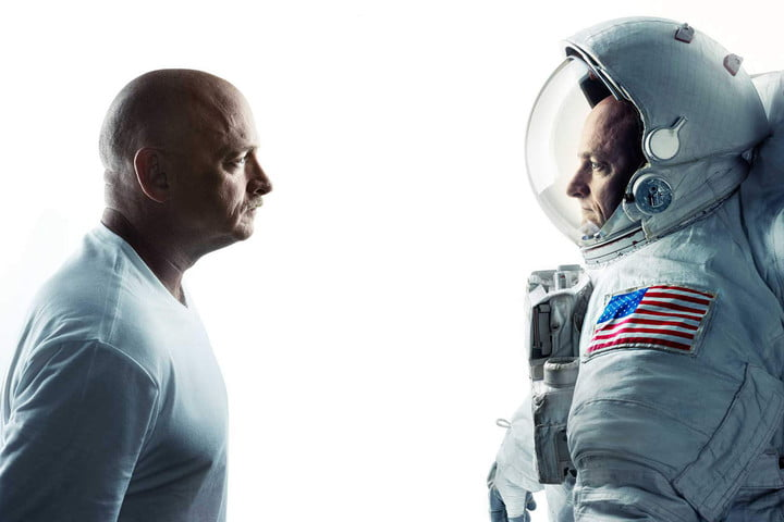 Twin Study subjects Mark (left) and Scott Kelly