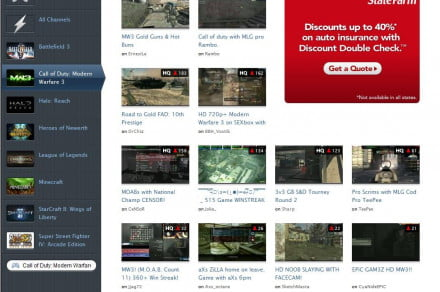 Twitchtv CoD channels