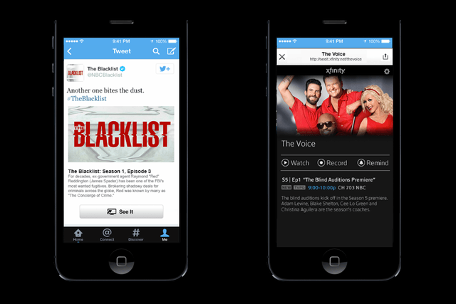 coming soon a twitter feature that gets you watching tv not tweeting about it comcast