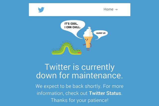 twitter outage december  android tweetdeck down