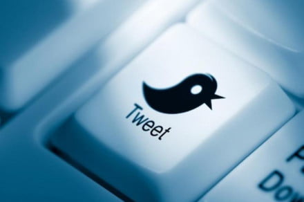 twitter keypad button