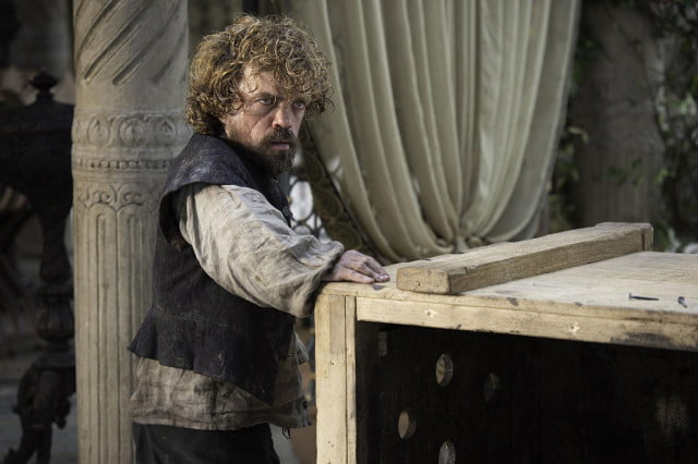 Tyrion Lannister needs a drink