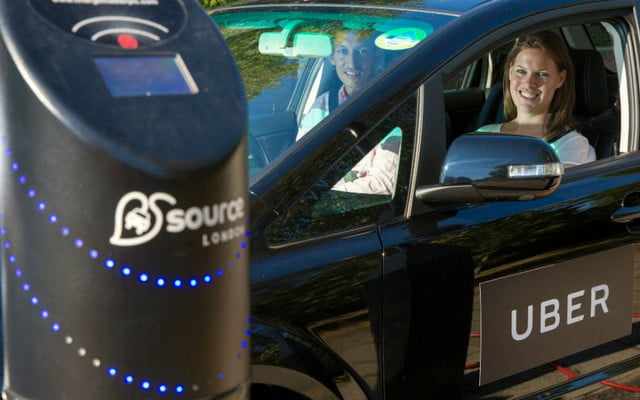 uber london nissan leaf byd e  electric vehicles in