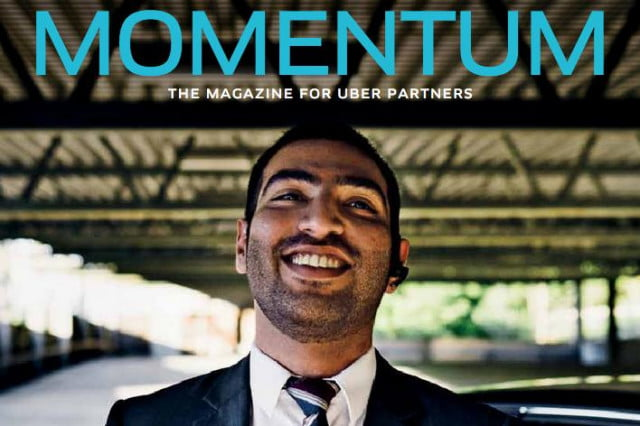 ubers just rolled out a quarterly magazine for its drivers uber