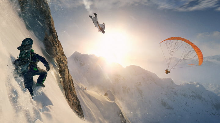 steep makes you wish were actually snowboarding ubisoft game