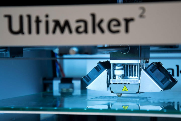 ultimaker  review print head