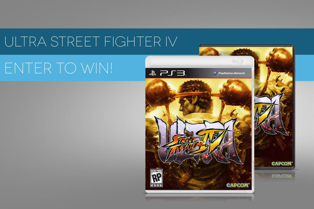 weve got  copies ultra street fighter iv share get giveaway header