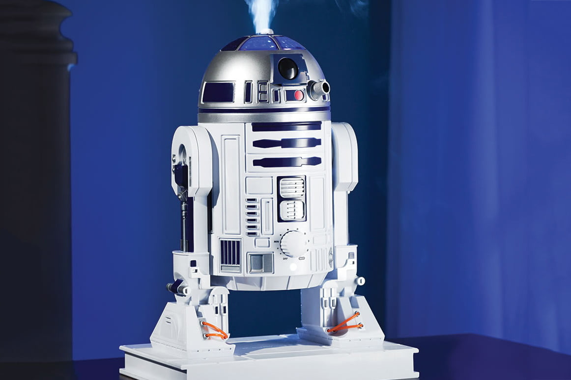 R2 D2 humidifiers Vader toasters and more crazy Star Wars stuff for  #B34A18