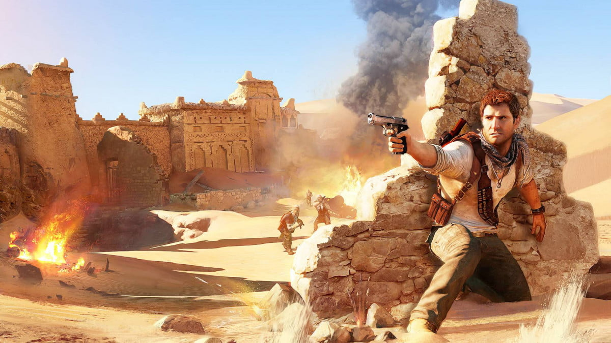 uncharted movie gets release date  wallpapers p