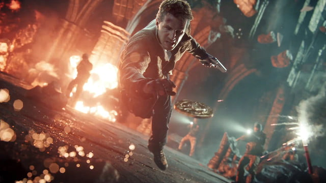 uncharted movie release date development  a thief s end