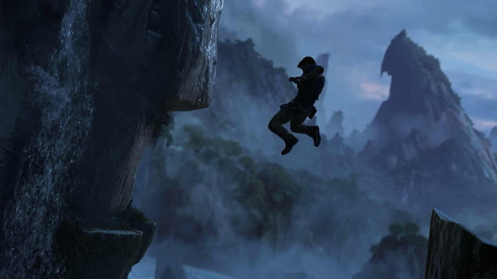 best of e  uncharted drake leaping