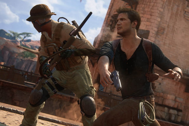 playstation five mobile games by  uncharted drakefight