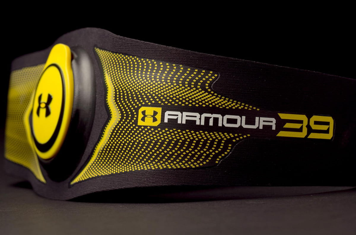 under armour crowd sources the future of its  workout monitor armor e review side angle