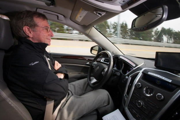 Under the microscope GM studying drivers behind the wheel of autonomous vehicles