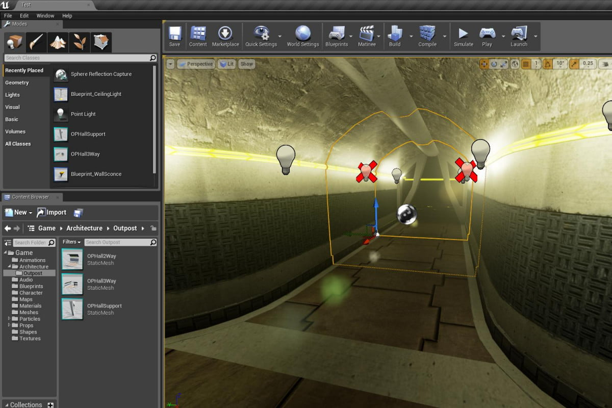 unity unreal available free engine