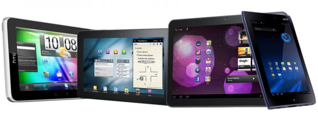 Upcoming Android tablets