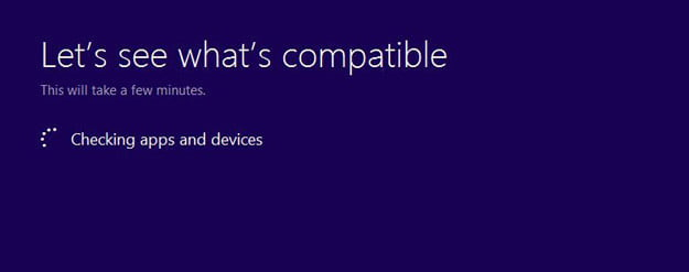 Upgrade Assistant install windows 8