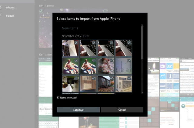 how to import photos and then delete them from iphone
