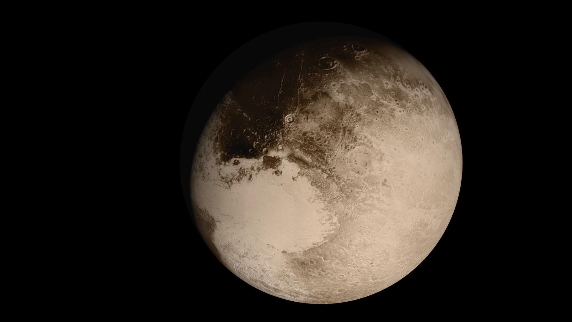 detailed pictures of pluto planet - photo #26