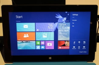 In Windows 8.1, the Personalize option is easy to find.