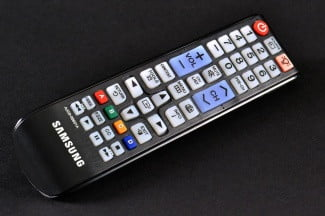 Samsung UN46FH6030F LED TV remote angle