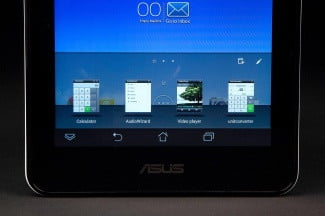ASUS MemoPad HD7 bottom screen