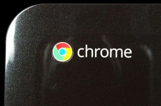HP Pavillion Chrome review chrome logo