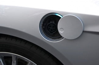 ford electric focus charging port