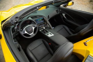 2014 Corvette Stingray Convertible cabin