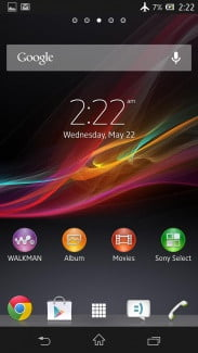 Sony-Xperia-zL-review-screens-home-screen