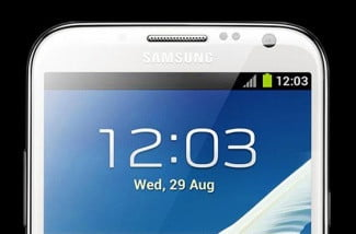 Samsung Galaxy Note II Display