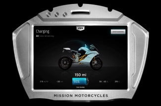 Mission-Moto-R-charging-display