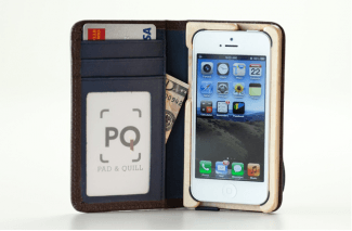 Pad & Quill Little Pocket Book Case for iPhone 5