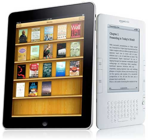 Kindle v iPad