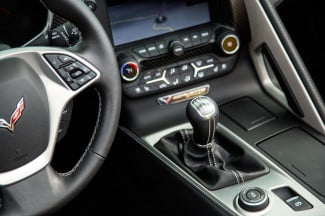 2014 Corvette Stingray Convertible gearstick