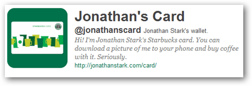 jonathan's starbucks card