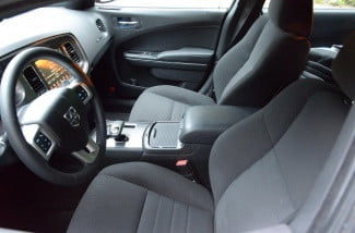 2013 Dodge Charger AWD interior front