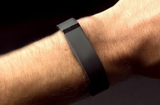 FitBit Flex review on wrist