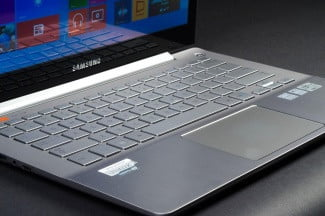 Samsung Series 7 Ultra keyboard