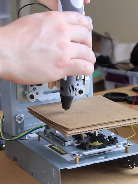 Build your own 3D printer for $50 and change