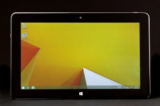 Dell Venue Pro 11 front screen on